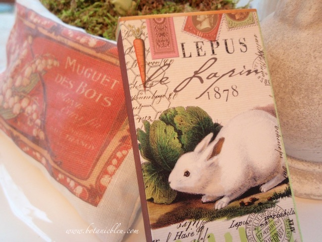 french lapin bunny spring table