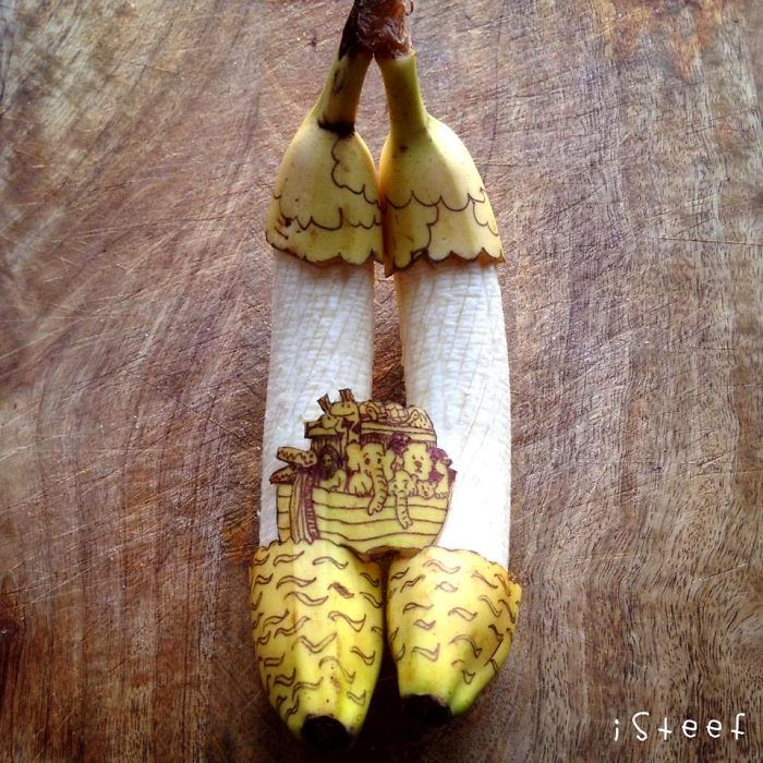 Preko banane do umjetnosti, fantasticno djelo