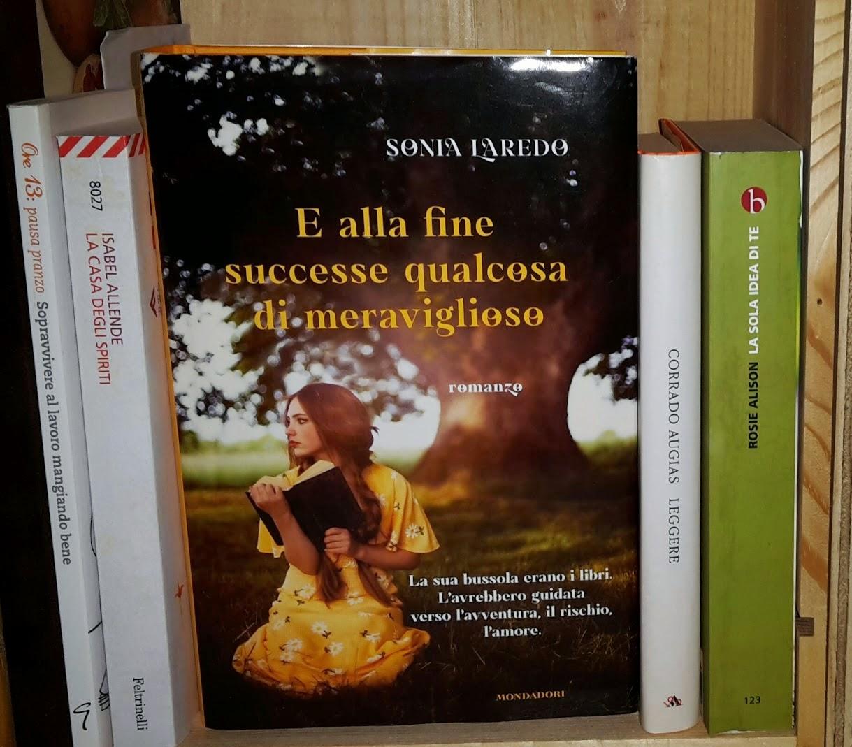 romanzo Sonia Laredo libro che parla di libri Mondadori