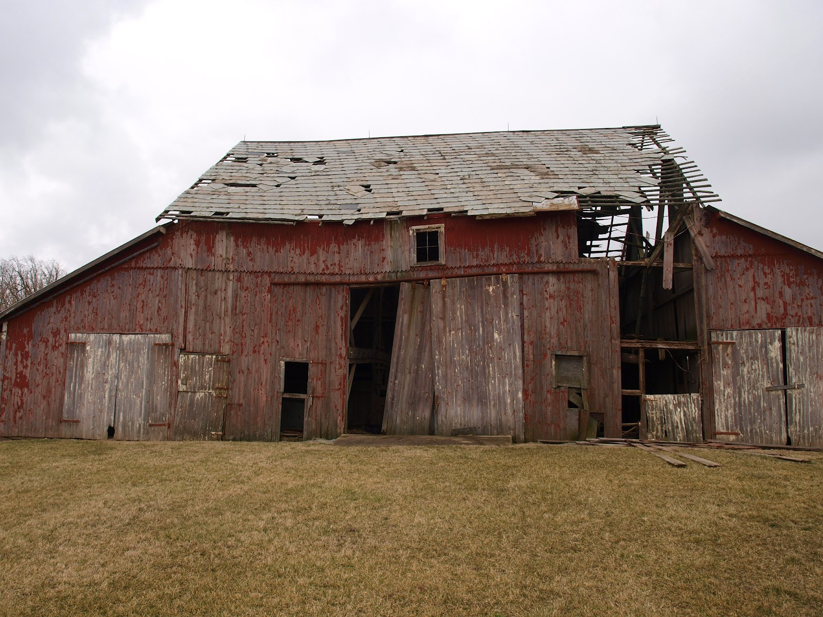 Ohio Thoughts Salvaging Barn Wood