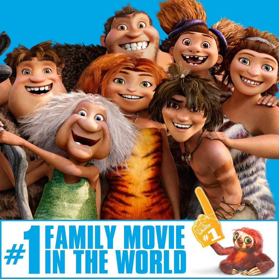 The Croods 2 Movie: The Croods: March 2013