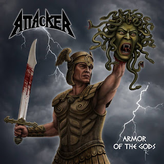 "Το live video των Attacker για το ""Glen of the Ghost"" από το ep ""Armor of the Gods"""
