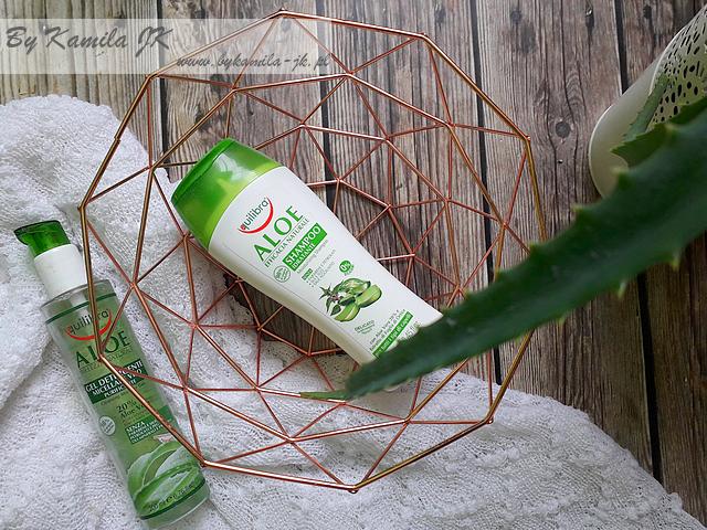 Equilibra aloesowy szampon i żel micelarny do oczyszczania twarzy