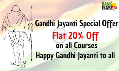 Gandhi Jayanti Special Offer