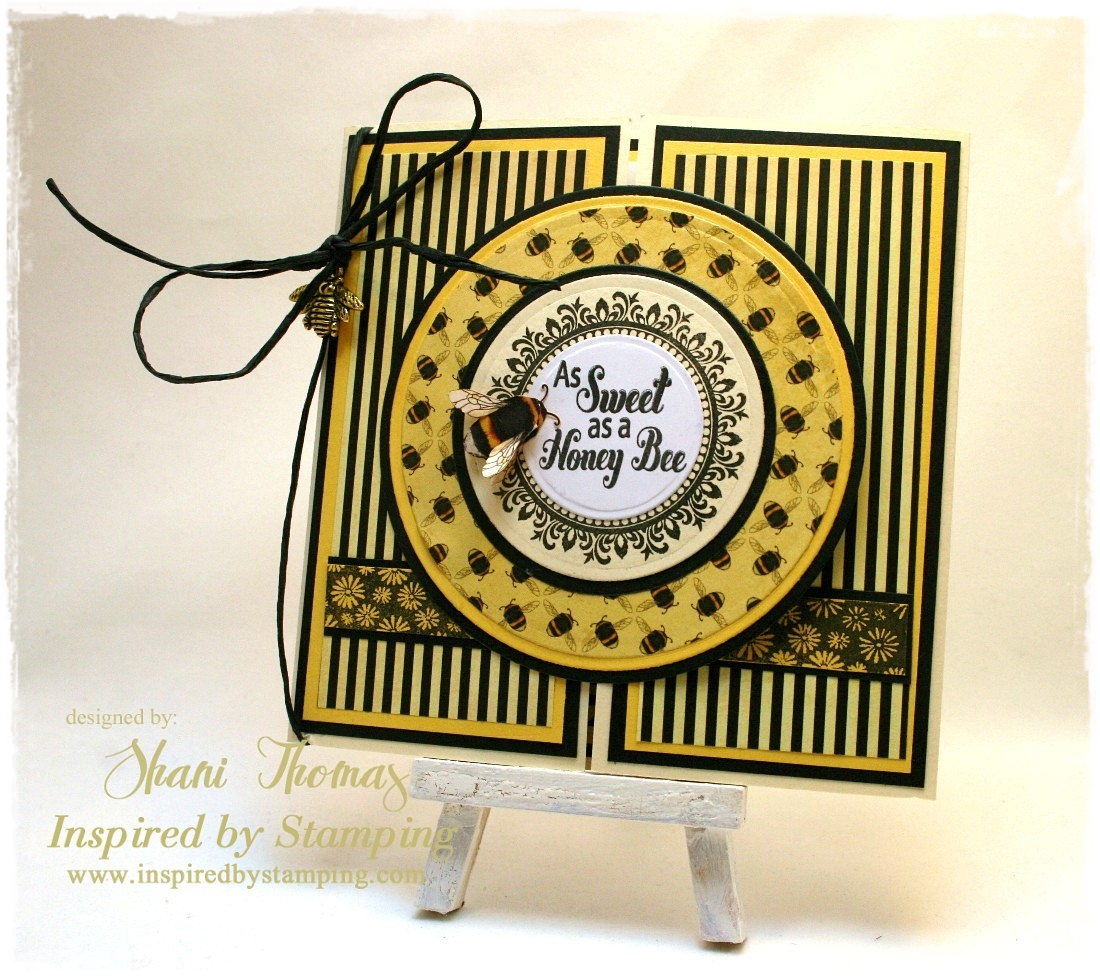 Paperesse: Inspired by Stamping blog hop—Honey Bee and ... - photo#46