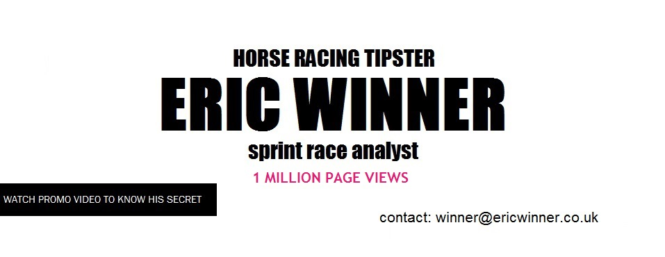 ERIC WINNER WINNING RACING TIPS