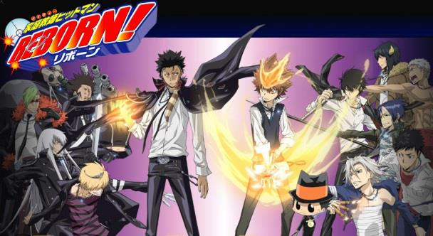 Katekyo Hitman Reborn - Best Shounen Anime of All Time
