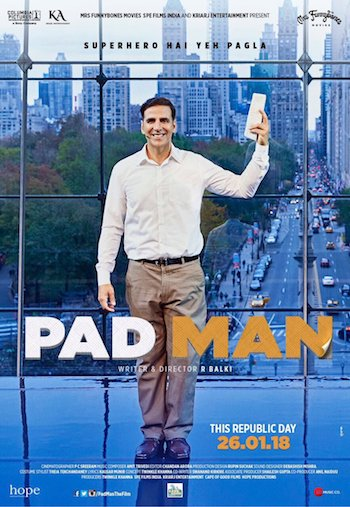 Padman 2018 Hindi 480p pDVDRip 350mb