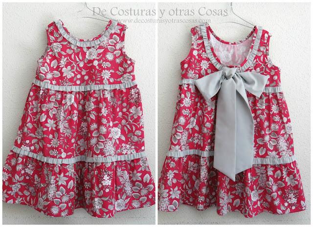 como hacer un vestido de verano para niña