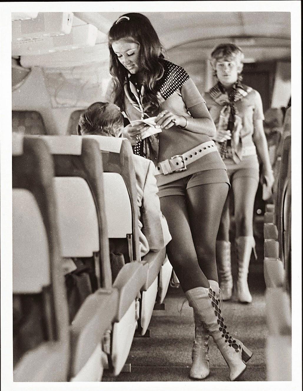 Vintage Flight Attendant Uniform 114