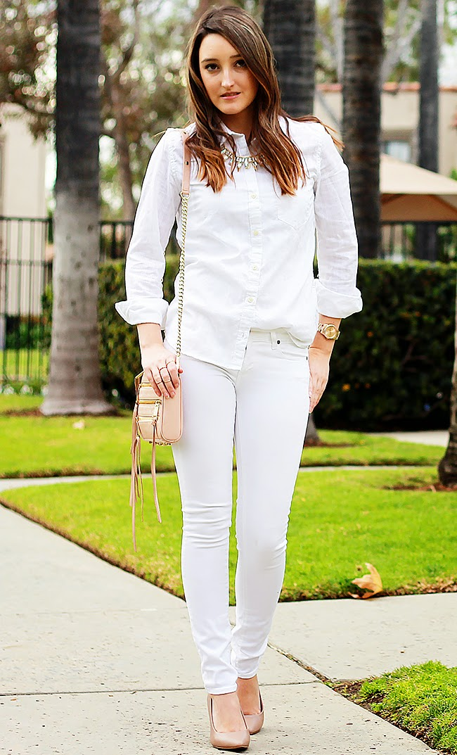 White Denim for Summer