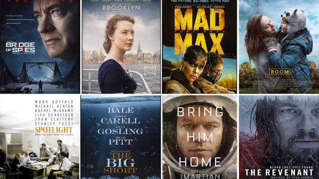 nominadas a mejor película del año 2016 en los Oscar