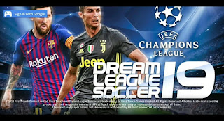 Dream League Soccer 2019 MOD UEFA Champions League Edition Android