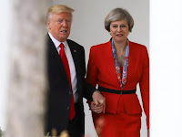 This is DONALD TRUMP and THERESA MAY's message to RAILA ODINGA! Everybody is angry with him.