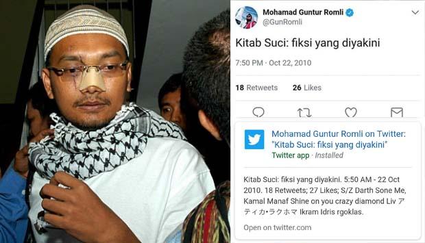 Tak Setuju Rocky Gerung Dilaporkan ke Polisi, Guntur Romli Jadi Bahan Tertawaan Warganet