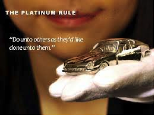 the golden rule vs the platinum Introductionthe purpose of this paper is to investigate the relationships between the so-called golden rule and the so-called platinum rule according to the golden rule you ought to treat others as.