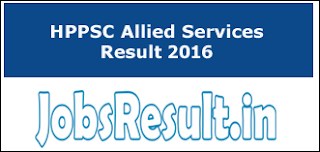 HPPSC Allied Services Result 2016