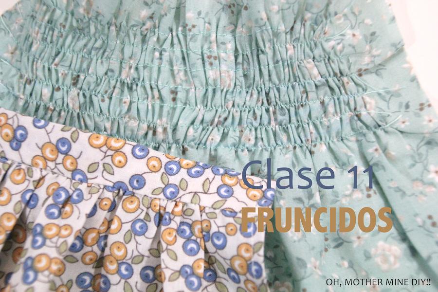 Curso de costura online gratis como hacer fruncidos