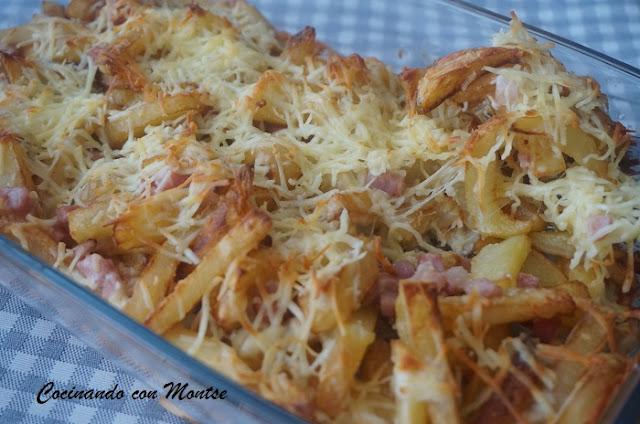 Patatas Con Queso Y Bacon Al Estilo Foster