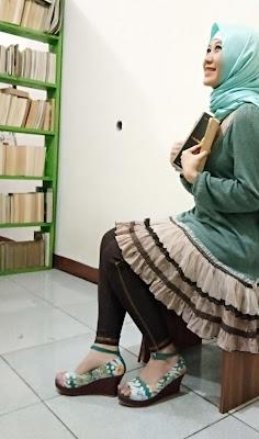 Arcadiatreasure Sepatu Motif Batik Yang Nge-Hits