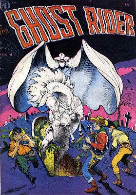 Ghost Rider v1 #4 comic book cover art by Frank Frazetta