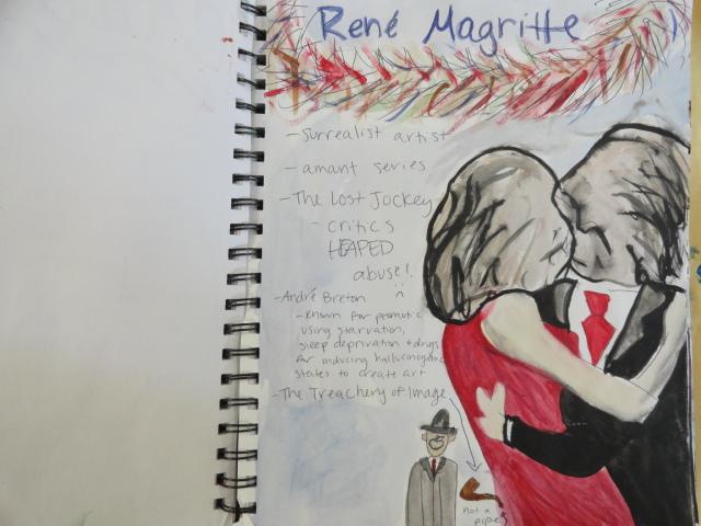 Art Of Apex High School: Doodling In The Class