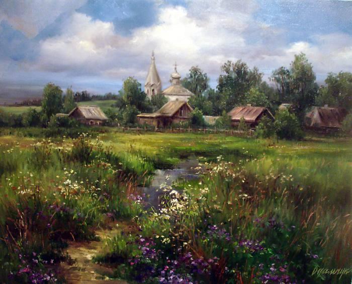 Реалистический стиль живописи. Ольга Одальчук