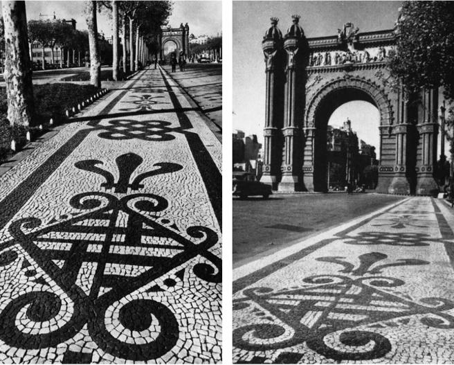 History of Portuguese pavement in pictures