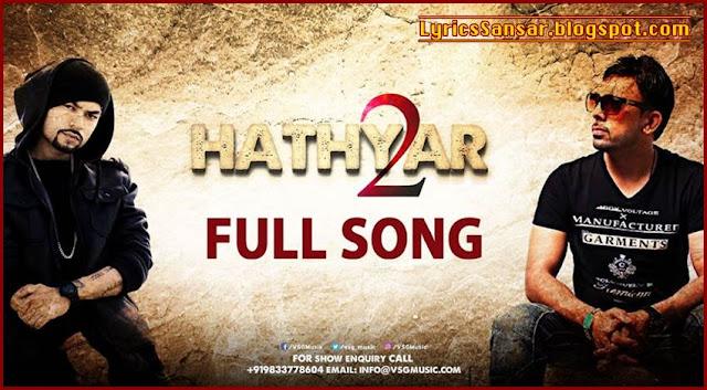Hathyar 2 : Bohemia & Gitta Bains | Deep Jandu