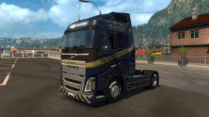 Dyce Carriers Ltd. Skin for Volvo 2012