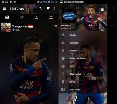 BBM MOD Neymar Clone
