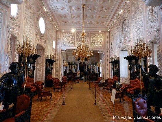 Salón Noble, Palacio da Pena, Sintra, Portugal
