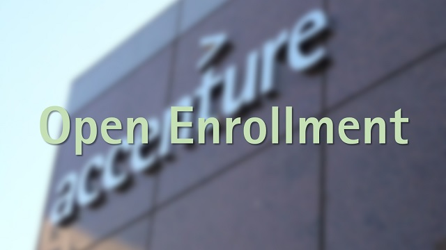Message during open enrollment season in health insurance ...