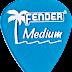 Bán miếng gảy đàn guitar Calclear LP Blue Med