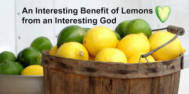 How Lemons Show us an aspect of God's Wisdom