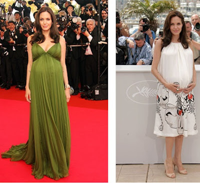Angelina+Jolie - Convidadas grávidas