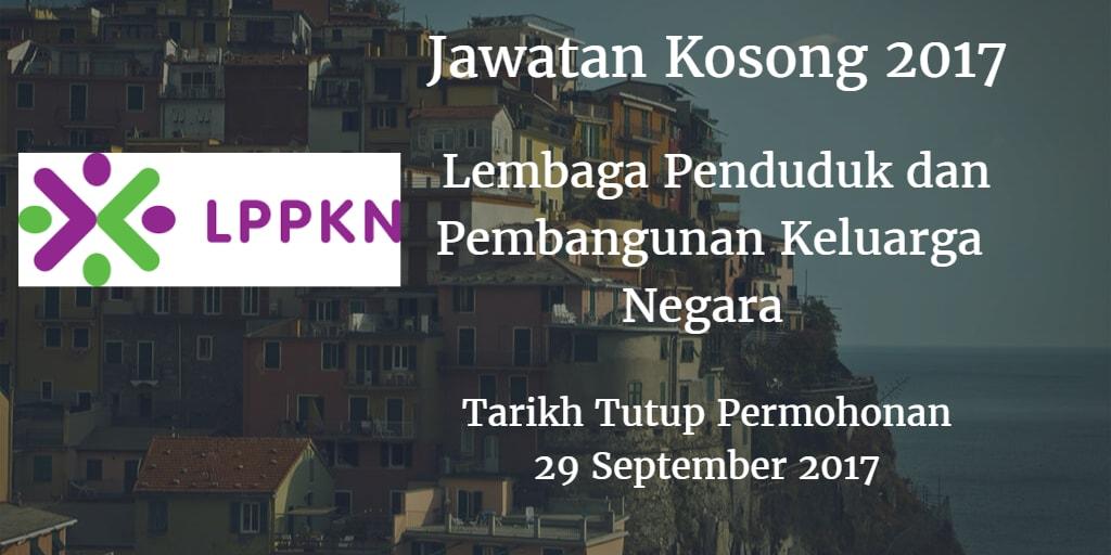 Jawatan Kosong LPPKN 29 September 2017
