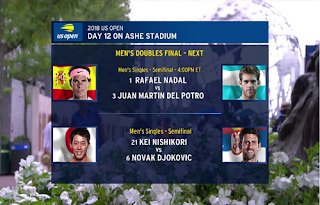 Day 12 US Open Tennis Biss Key 8 September 2018