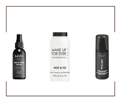 Fixateurs de maquillage