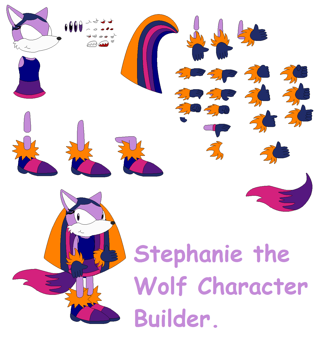 concept art blog stephanie the wolf character builder