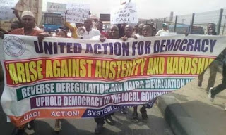 UAD PROTEST IN LAGOS
