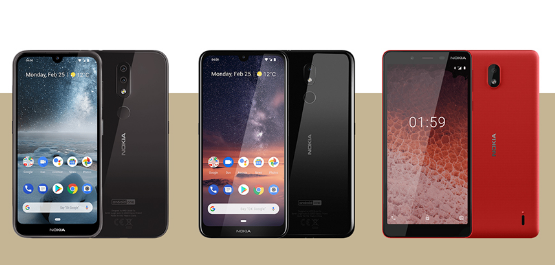 Nokia 1 Plus and Nokia 210 phones have been released in MWC 2019