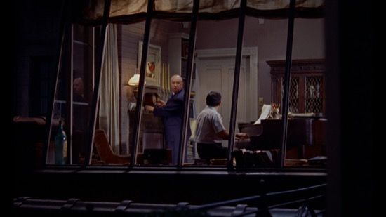 Cameo de Hitckcock en La ventana indiscreta