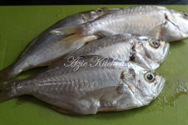 Ikan Goreng Garam Kunyit Yang Sangat Sedap  Ikan Goreng Garam Kunyit Yang Sangat Sedap dan Cerita Luahan Hati