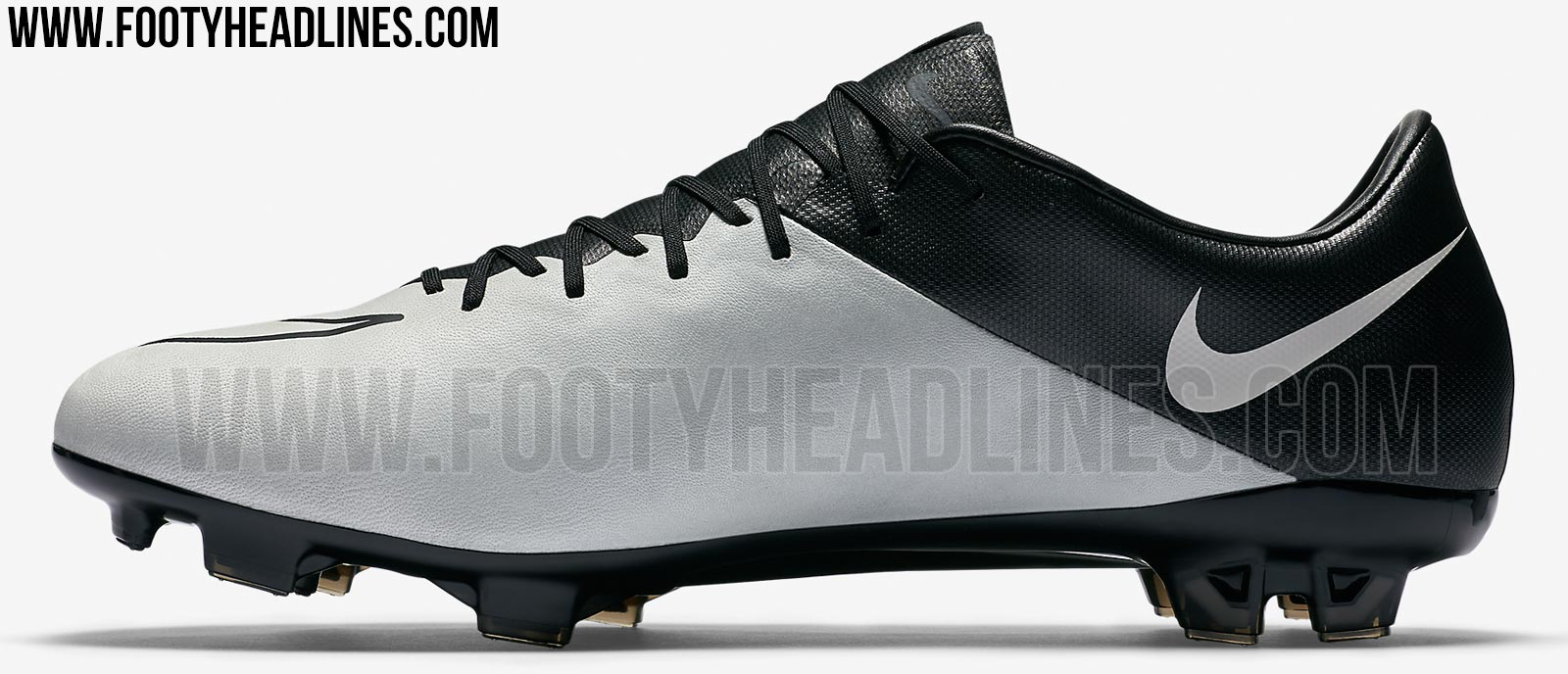 grey black nike mercurial vapor x 2016 leather boots. Black Bedroom Furniture Sets. Home Design Ideas