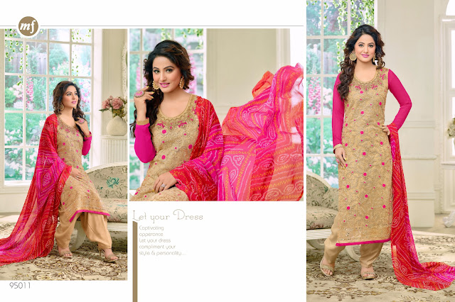Buy Online Hina kHan Style Salwar Suit Heenari Vol 8 at Wholesale Price