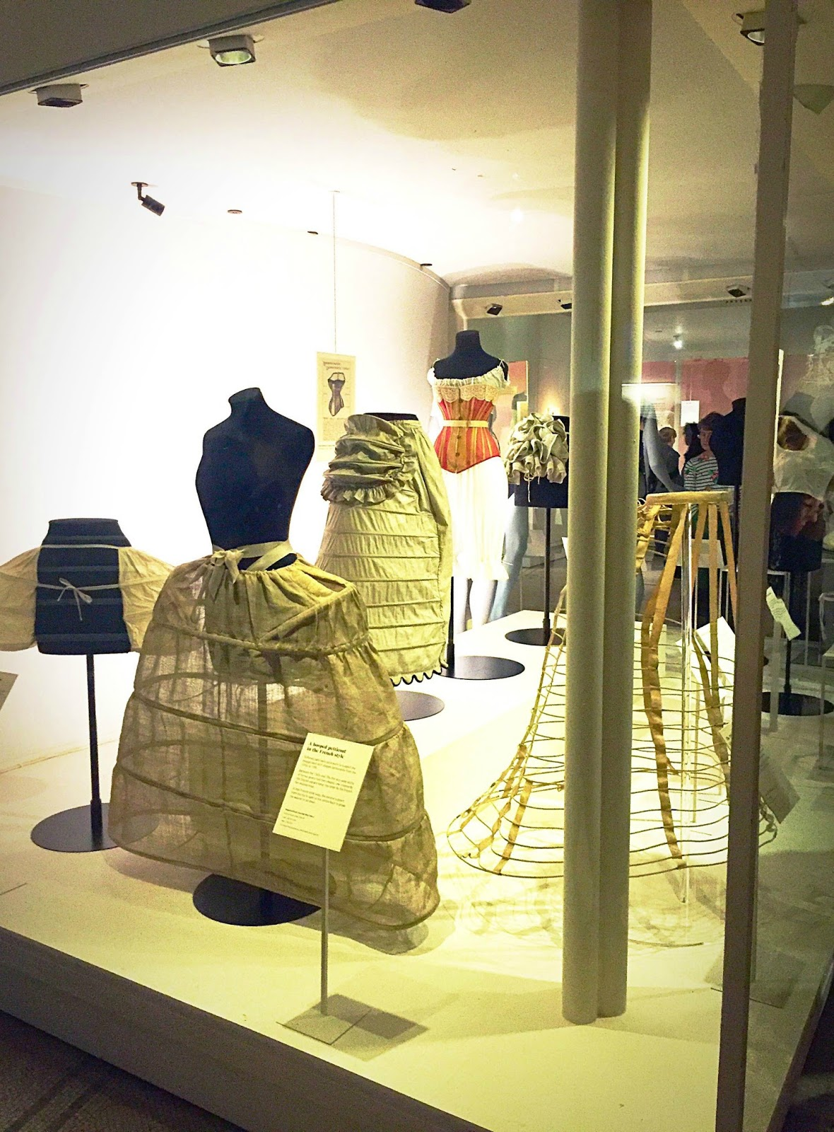 Undressed fashion exhibition at the VandA London