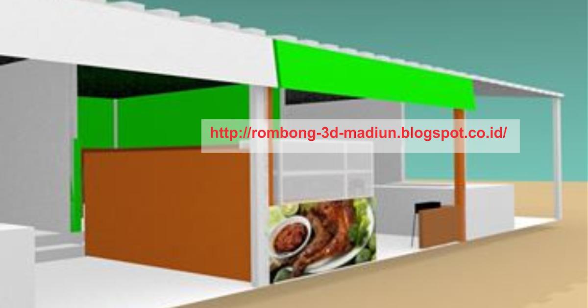 ROMBONG / GROBAK / GEROBAK 3D: DESAIN INTERIOR WARUNG