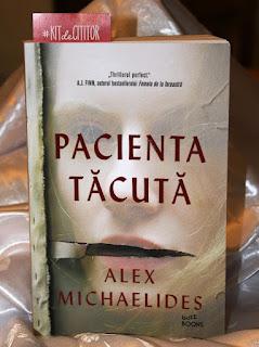 Pacienta tacuta de Alex Michaelides. Recenzie