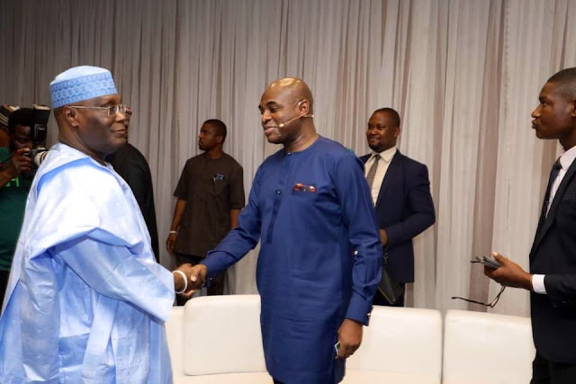 ATIKU APOLOGIZES TO NIGERIANS AND GIVES REASONS ON WHY HE LEFT THE PRESIDENTIAL DEBATE VENUE